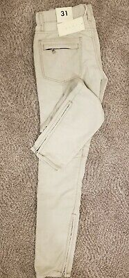 $ CDN42.51 • Buy * Brand New W/ Tags Mnml Corduroy Moto Pants Size 31 Zippered Ankles And Pockets