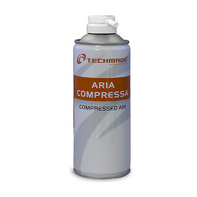 Spray Can Air Compressed 400ML Eco For Cleaning PC Keyboards Office • 9.05£