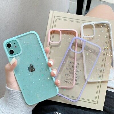 AU8.99 • Buy Case For IPhone 11 12 Pro Max XS XR SE 6 7 8 Plus Bling Glitter Star Clear Cover