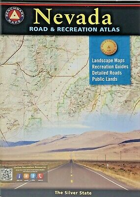 Nevada Road And Recreational Atlas 2018 Benchmark Maps Paperback   • 17.51£
