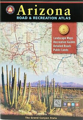 Arizona Road And Recreational Atlas 2018 Benchmark Maps Paperback  • 17.51£