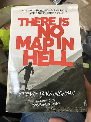 £14.99 • Buy *signed* There Is No Map In Hell Steve Birkinshaw Fell Running Wainwright Pb