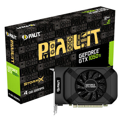 $ CDN401.95 • Buy GeForce GTX 1050Ti StormX 4096MB PCI-Express GDDR5 Graphics Card