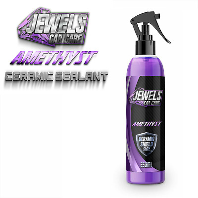 $16.46 • Buy Jewels Amethyst Ceramic Coating Shield Si02 Ultimate Shine,Armor Protection Wax