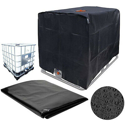 Cover Sun Protective Hood For Rain Water Tank 1000 Liters IBC Container Foil New • 19.19£