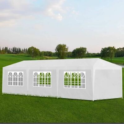 AU144.95 • Buy Party Tent Water Resistant Outdoor Event Festival Shelter Gazebo With Walls 3x9m