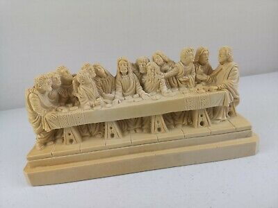 £42 • Buy Heavy The Last Supper Religious Statue Figurine Ornament By A GIANNETTI  VGC