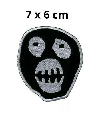 £1.89 • Buy Mighty Boosh Mask Logo Iron-on Embroidered Patch Jacket Badge