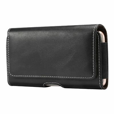 $ CDN48.72 • Buy For Sony Xperia XA2 Holster Horizontal Leather With Belt Loop New Design