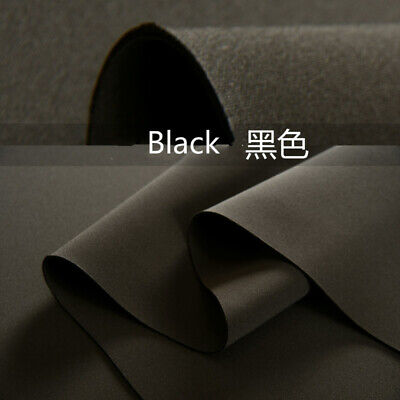 £17.80 • Buy 2.2MM Thickness Scuba Knit Fabric Foam Stretch Designer Crafts Sewing Material