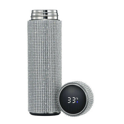AU31.61 • Buy 500ml Creative Diamonds Thermos Bottle Hot Water Bottles Stainless Steel Smart