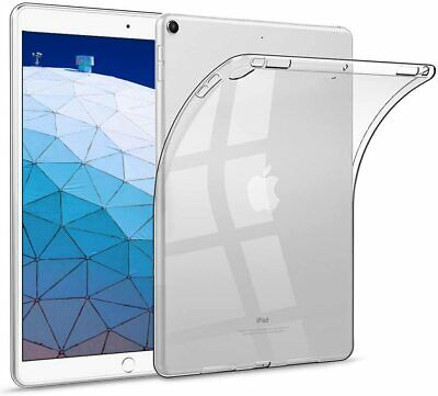AU5.59 • Buy Crystal Clear Protective TPU GEL SILICON Case Cover Fr Apple IPad AIR 3 PRO 10.5