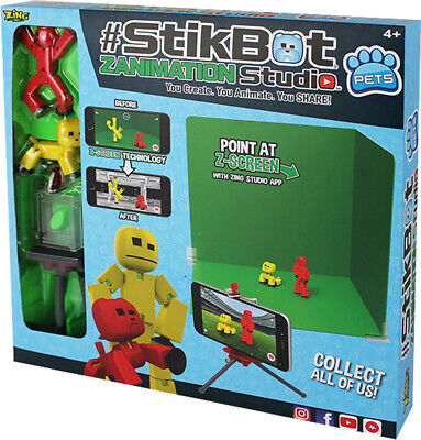 StikBot Zanimation Studio - Now With StikBot Pets Create, Animate, Share **New • 24.49£