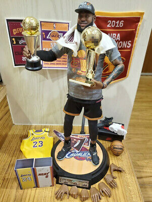 $430 • Buy Enterbay 1/6 Lebron James  NBA 2016 Champion