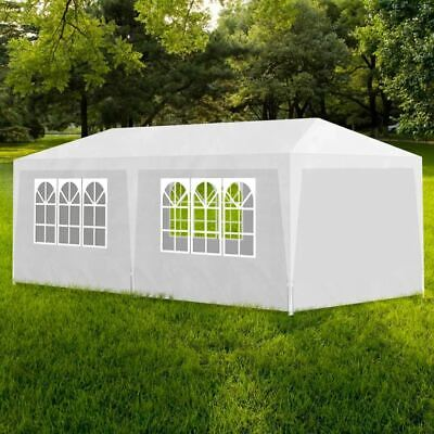 AU129.95 • Buy Party Tent With Side Panels 3x6m Outdoor Event Festival Shelter Canopy Gazebo