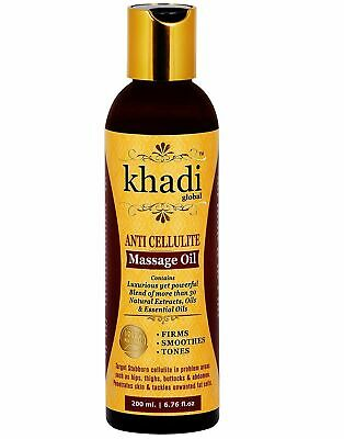 Khadi Global Anti Cellulite Slimming Massage Oil 200 Ml • 21.89£