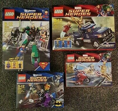 Lego 6862 , 6867 , 6858 , 6865 -all Sets Boxed & Complete -freepost Ups Delivery • 54.99£