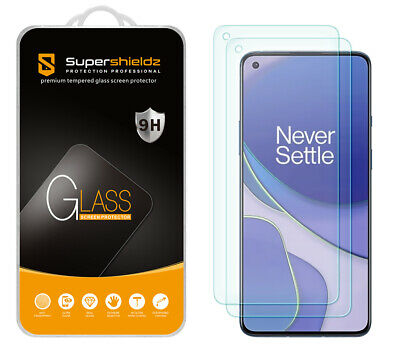 AU10.67 • Buy 2-Pack Supershieldz Tempered Glass Screen Protector For OnePlus 9/ OnePlus 9 5G