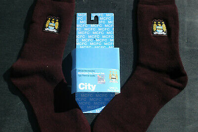 £2.50 • Buy Official Merchandise Manchester City Football Club 1 Pair Thermal Socks
