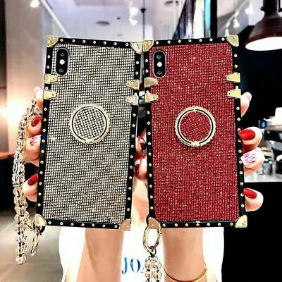 $ CDN15.55 • Buy Luxury Bling Fashion Trunk Square Case For Samsung Note20 10Plus S20FE A71 A21s