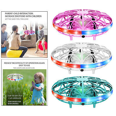 AU17.16 • Buy Hand Operated Mini Drone For Kids Toddlers Adults Self Flying UFO Interactive