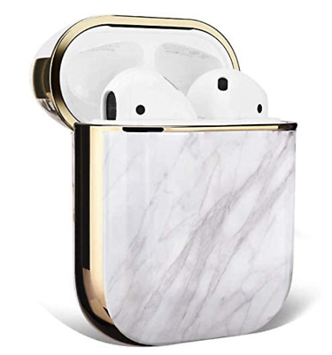 $ CDN12.01 • Buy AirPods Case Accessories Shockproof Protective Cover (White Marble)