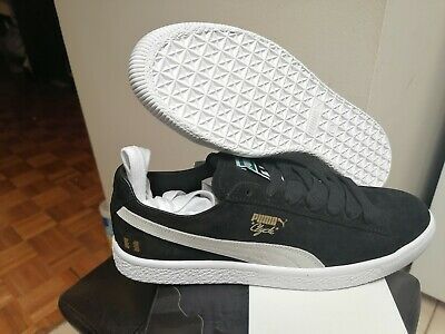 Men's Puma X The Hundreds Puma Clyde Puma White-Puma Black 371383 01 Size 9  • 93.02£