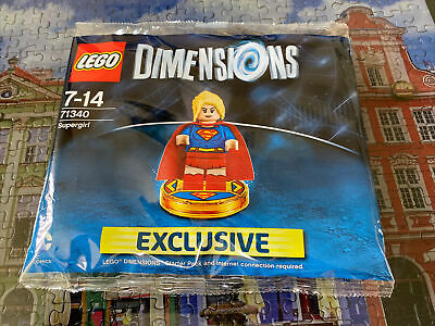 AU75 • Buy Lego 71340 Dimensions Supergirl Polybag New/Sealed/Retired/Hard To Find