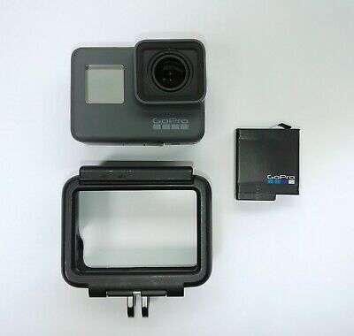 AU149.99 • Buy GoPro HERO 5 Black Sport Action Camera - LCD Fault - Everything Else Great Cond!