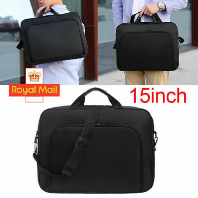 15.6 Inch Laptop PC Waterproof Shoulder Bag Carrying Soft Notebook Case Cover UK • 8.99£