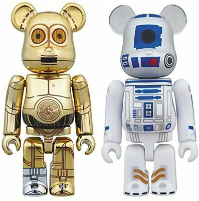 $80.93 • Buy Bearbrick Star Wars 2 Pack C-3PO (TM) & R2-D2 (TM) Height Approx. 70mm Pa...