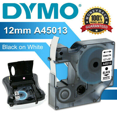£3.78 • Buy DYMO D1 A45013 45010 Label Tape Compatible With DYMO LabelManager 12mm