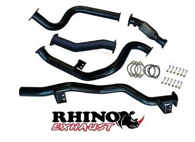 AU395 • Buy Toyota Landcruiser Vdj 79 Series S/cab V8 3  Inch Turbo Back Pipe Only Exhaust