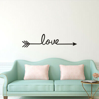 Love Removable Wall Stickers Art Vinyl Quote Decal Mural Home Bedroom Decor • 1.35£