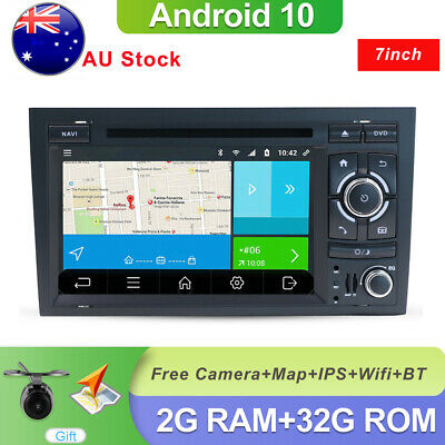 AU287 • Buy Car Stereo GPS Navigation Android 10 For Audi A4 B6 B7 BT Radio Audio Head Unit
