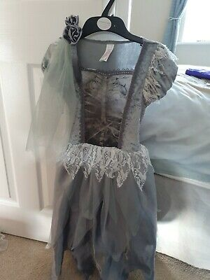 Zombie Bride Costume 7-8 Years  • 5£