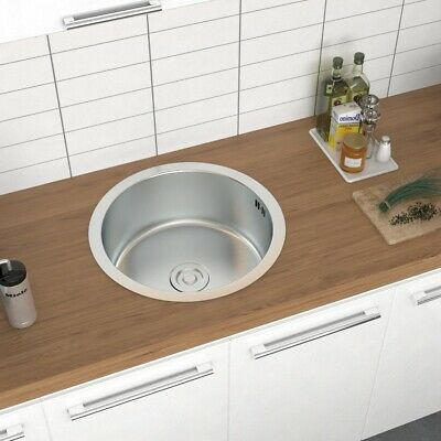 £30.95 • Buy Kitchen Sink Stainless Steel Single/Double Bowl Reversible Drainer With Waste