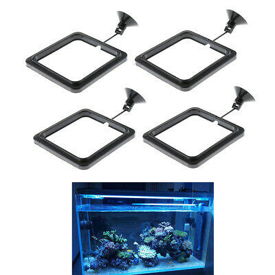 4 Pack Floating Aquatic Plants Ring Feeder Feeding Station Beneficial To Fish • 5.28£