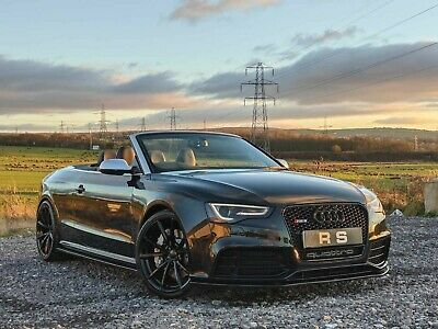 2013 Audi Rs5 4.2 Fsi Convertible Cabriolet Phantom Black S Tronic Px Swap • 28,995£