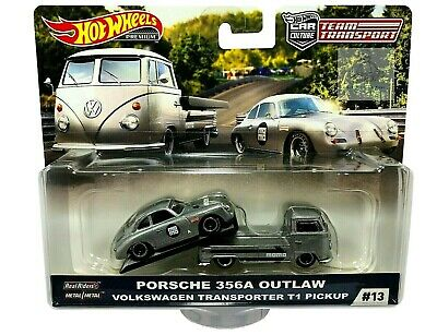 AU29.99 • Buy Hot Wheels Car Culture Team Transport Porsche Outlaw 356A Volkswagen T1 Pickup