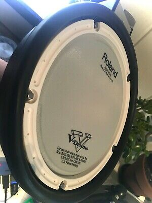 AU127.50 • Buy Roland PDX-6  Electronic Dual Zone Mesh V Drum Pad  Absolute MINT CONDITION