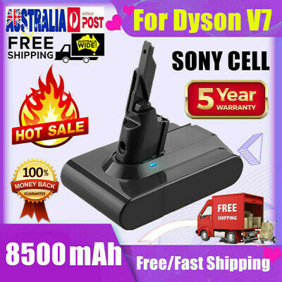 AU39.99 • Buy 6000mAh Battery For Dyson V7 Motorhead Animal Handheld Cordless Vacuum Sony Cell