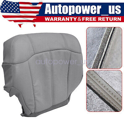 $51.19 • Buy Driver Bottom Replacement Seat Cover Gray 1999 2000 2001 2002 Chevy Silverado