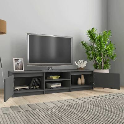 AU123.95 • Buy TV Stand Cabinet Modern 2-Door Console Storage Display Table Entertainment Unit