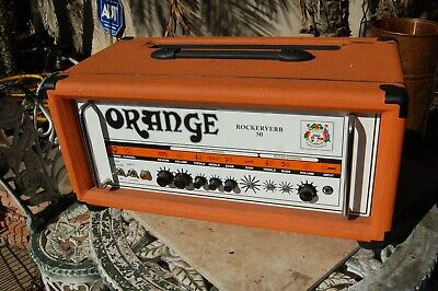 $ CDN574.16 • Buy Orange Rockerverb 50 Head Empty Cabinet For Parts Repair See Pictures