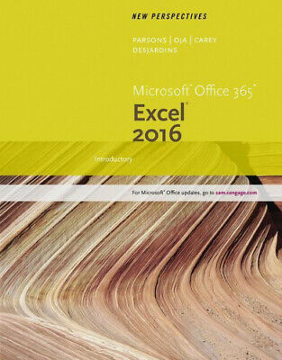 AU80.38 • Buy New Perspectives Microsoft (R) Office 365 & Excel 2016: Introductory