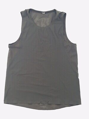 $ CDN25.05 • Buy Lululemon Activewear Tank Top, Green, Size 8, Perforated Back Detail, Good Cond