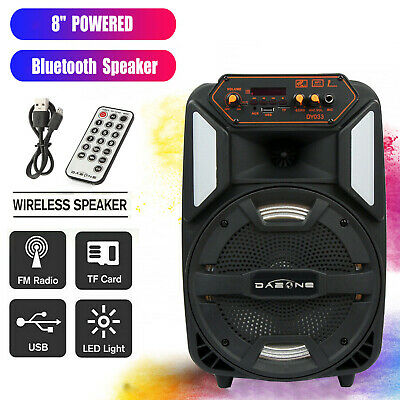 $42.99 • Buy 8  Portable Bluetooth Party Speaker 1000W FM Wireless Subwoofer Remote Control