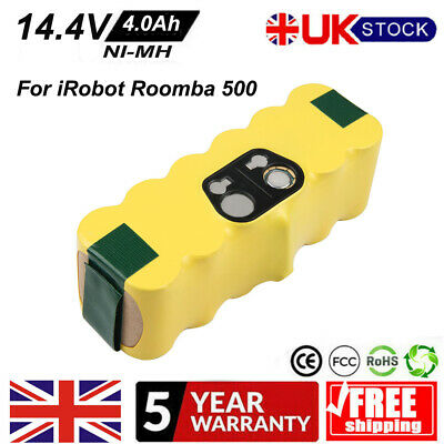 4000mAh Battery For IRobot Roomba 500 510 530 610 650 760 780 800 880 Cordless • 16.99£