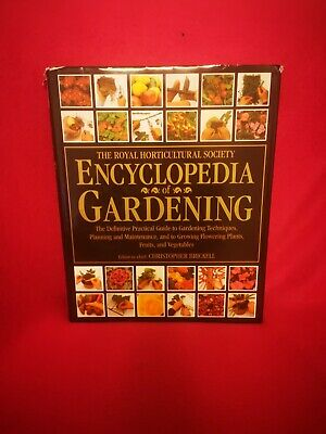 Royal Horticultural Society Encyclopedia Of Plants And Flowers • 6£
